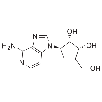 3-Deazaneplanocin A chemical structure