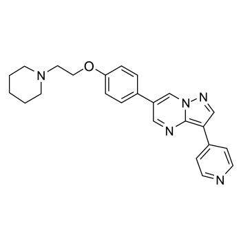 Dorsomorphin chemical structure