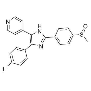 SB203580 chemical structure